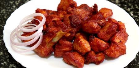 Chilli chicken recipe in Tamil