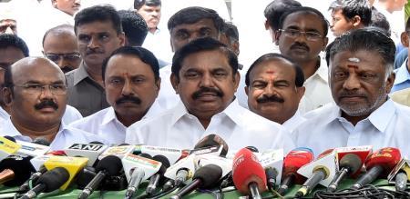 TN CM Edappadi Palaniswami Press Meet