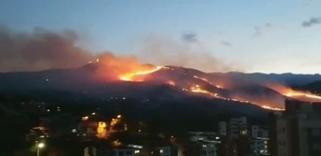colombia fire
