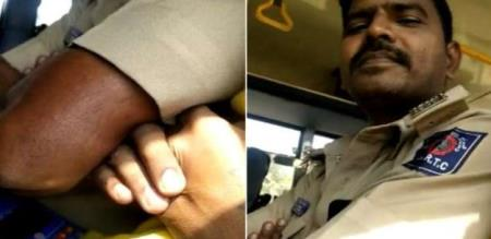 in Karnataka girl sexual torture govt bus conductor