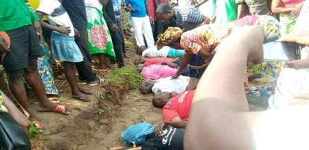 In Congo electric shock attack peoples died