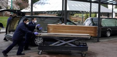 IN SPAIN AGED MENS DIED IN NURSERY HOME AFFECTED CORONA VIRUS