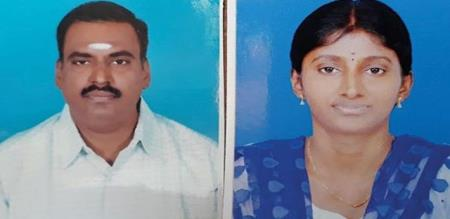 in Cudallore girl and dad died in accident
