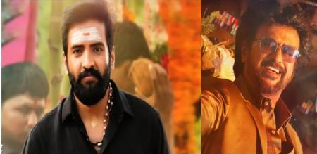 in rajinikanth darbar movie and santhanam dacalty movie join in shooting spot