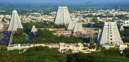 central government announced award  in thiruvannamalai