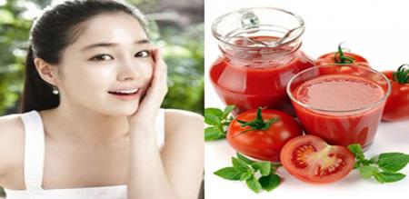 how to use tomato for pimples