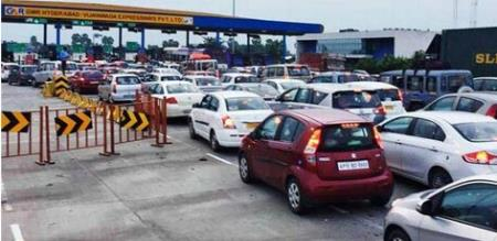 tollgate amount increased