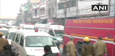 in delhi fire accident 32 peoples died