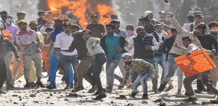 Delhi high court judge raise question about Delhi violence