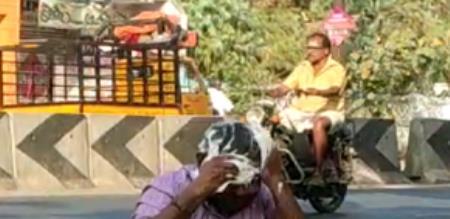 different protest in thirupur
