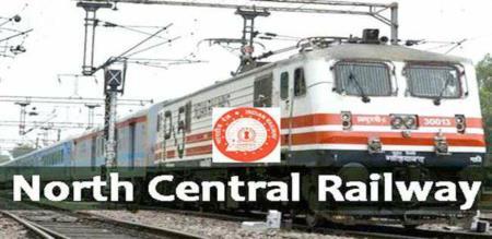 North Central Railway job 2020
