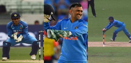 new zealand vs india in dhoni stumping