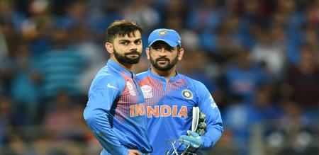 dhoni birthday wish by virat kohli is first place in india