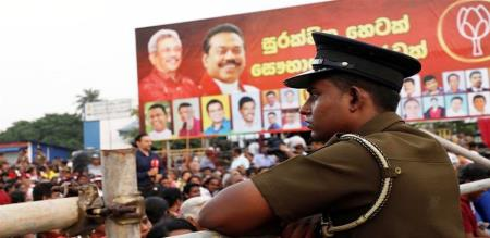 full security in srilanka for election