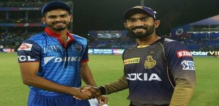 delhi won the toss elected to bowl first against kkr