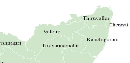 thirunelveli kanchipuram vellore chengalpat district