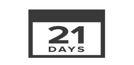 21 days in india