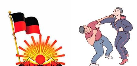 in chennai dmk party member attack men