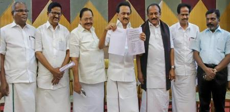 dmk coalition party announcement about corona fund