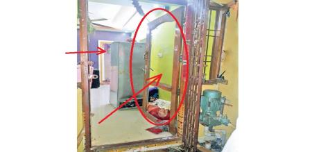 in Chennai house door explodes investigation going on