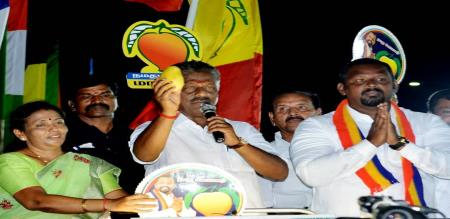 PMK Candidate Sam Paul Activity During Election Campaign