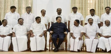 palanisamy may be change four ministers