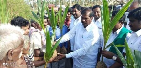 Delta in affected areas when visiting  PMK  President