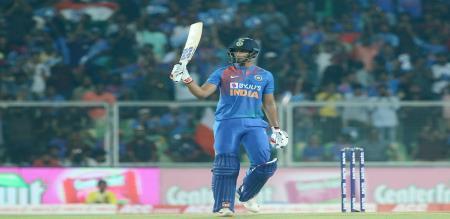 India set target 171 to west indies in Thiruvananthapuram  match