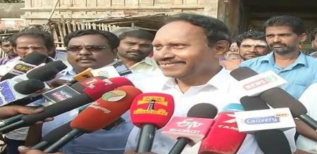 Thiruvarur Byelection 2019 : Thambudurai MP Press Meet