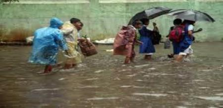 coimbature school today holiday for rain