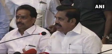 tamilnadu chief minister announce to govt jobs army officers family