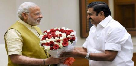 pm modi appreciate CM of tamilnadu