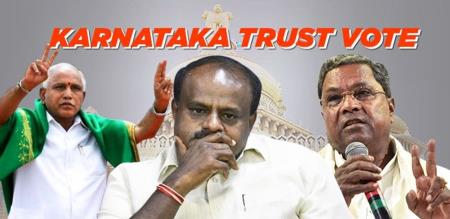 trust vote in karanataka