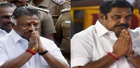 edappadi palanisamy and paneer selvam mourning to p h pandian