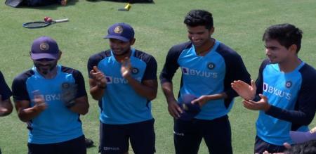 Tamilnadu players test numbers