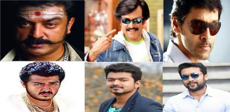 Tamil heros salary details
