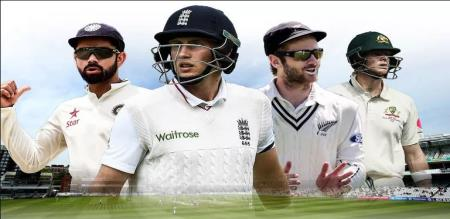 who is the top in test in Fab four