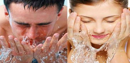 face washing methods