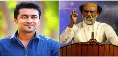 surya thanks to rajini