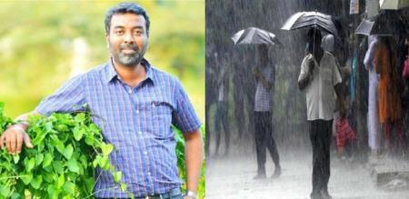 tamil nadu weather man post for vellore rain