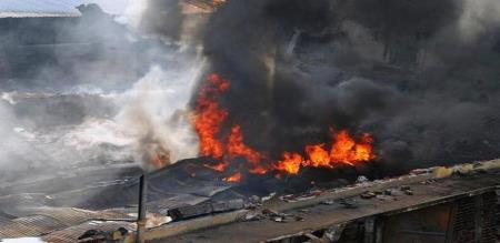 fire accident in sugar factory