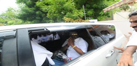 vijayakanth election campaign in vikravandi