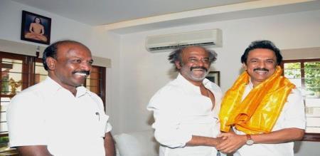 dayanidhi maran says about rajini