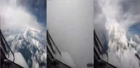 in social media video trend about flight traveling with clouds in Queensland