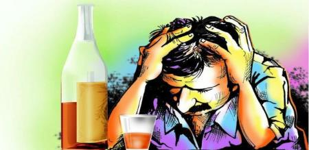 A group of staffs murdered by fake liquor