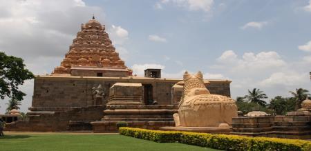 Gangai konda cholapuram temple near 4 way road