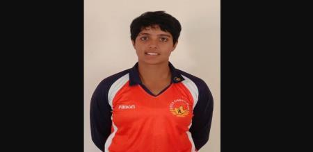 Kashvee gautam got all 10 wickets against Arunachal Pradesh
