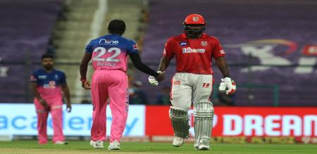 Gayle scored 99 against Rajasthan royals