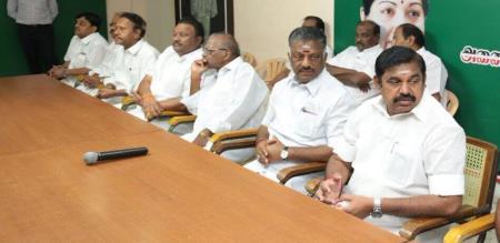 admk ministers meeting on jan 22