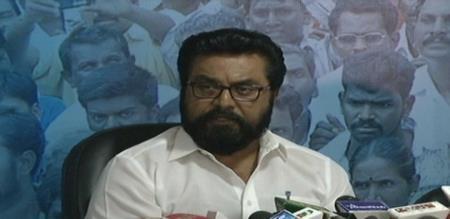 sarathkumar press meet in 2019 election